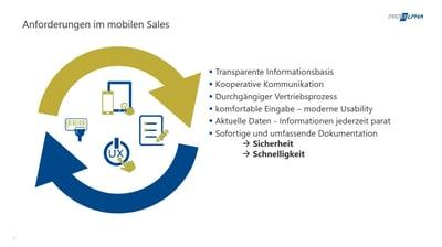 Mobil arbeiten im Sales