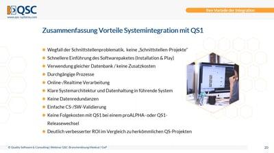 Branchenlösung für Medical/GxP - konform, effizient, integriert