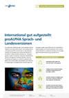 proALPHA-Sprach-Landesversionen