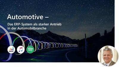 Automotive – Das ERP-System als starker Antrieb in der Automobilbranche