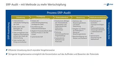 ERP-Audit Ihrer proALPHA-Umgebung: Mit Methode zu mehr Wertschöpfung
