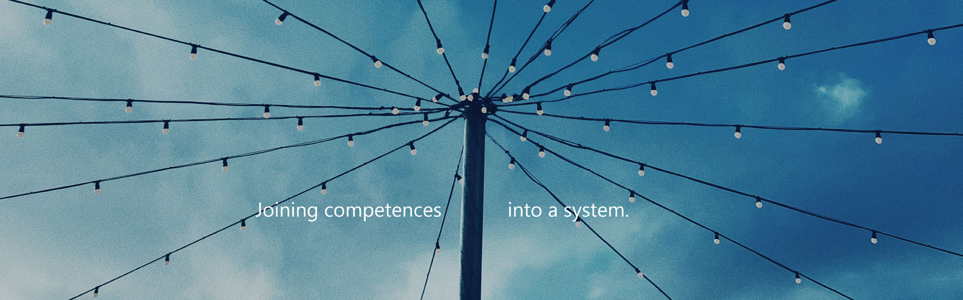 Joining competences into a system